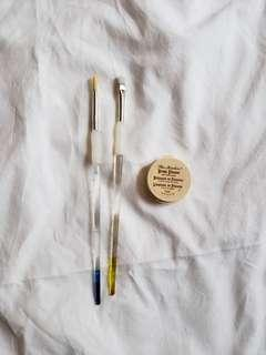 Paintbrushes and Brush Cleaner