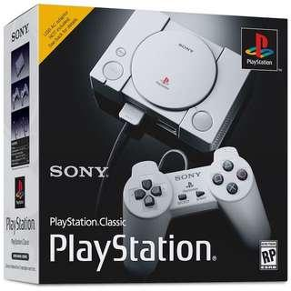 Wanted to Buy New/ Preowned Playstation Classic.
