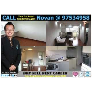 HDB Rental - 3I Blk 23 Toa Payoh East 3-Room Improved