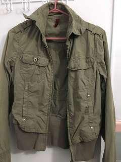 Foxy camou jacket