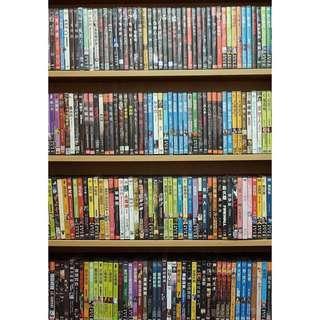 【DVD福袋】普通級DVD/授權出租版/不挑片甩賣一箱一組10片249元
