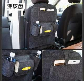 🚚 汽車椅背後置物袋->現貨1