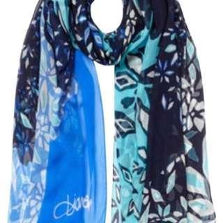 Beautiful designer (DVF) scarf (silk/chiffon) scarf on sale!!