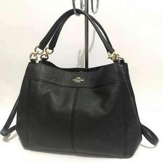 Authentic Coach Lexy Pebbled Bag