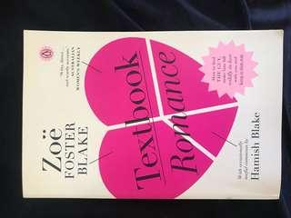 Text book romance by Zoe Foster Blake