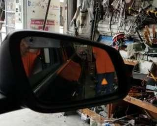 Microwave Blind Spot Monitoring System installed on BMW F45 2 Series Active Tourer 2017.