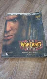 Warcraft Reign of chaos III game book