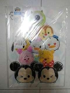 Disney Tsum Tsum A4 file 一套4個