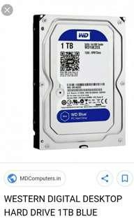 🚚 1TB HDD