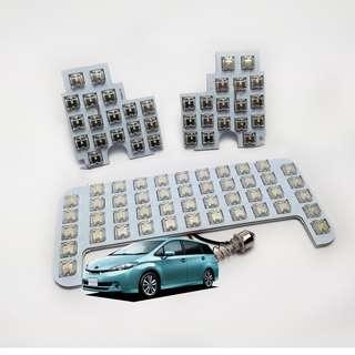 豐田 Wish ZGE20 套裝LED房燈