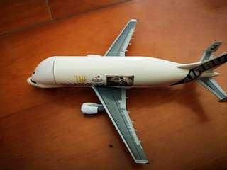 dragon wing: 1/400 airplane model A300 super airbus transporter
