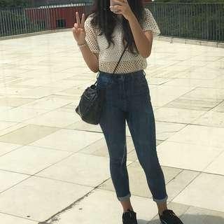 🚚 Highwaisted Denim Jeans