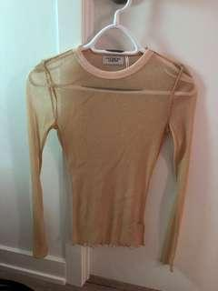 Urban outfitters mesh top medium