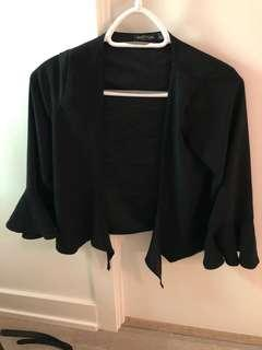Nastygal front tie blouse size 4