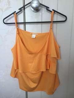 H&M Yellow/orange cami