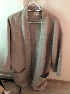Wilfred medium long fall jacket
