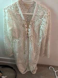 Michael Kors lace dress size small