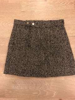 Mendocino tweed skirt large
