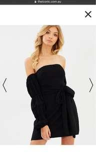 ATMOS&HERE (ICONIC EXCLUSIVE) - Jacinta Ruffle Sleeve Dress