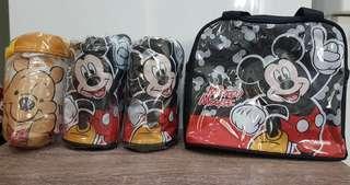 🚚 迪士尼授權 米奇/維尼 手提袋(兩個免運)