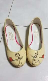 Goby flat shoes (love story design)