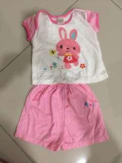 Baby casual wear pink