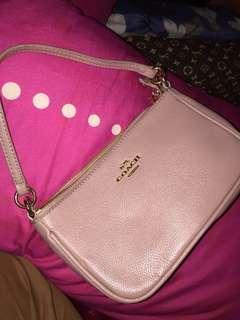 Coach top handle sling bag
