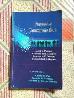 Purposive Communication book