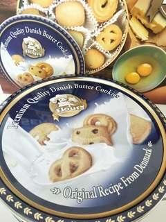 Premium Quality Danish Butter Cookies