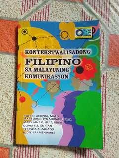 Kontekswalisadong Filipino sa Malayuning Komunikasyon book