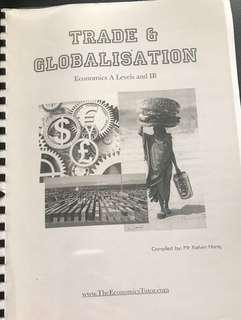 A Level Economics Notes on Trade and Globalisation by Kelvin Hong