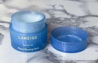 Leneige water sleeping mask
