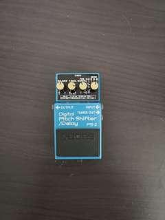 Faulty BOSS Vintage MIJ Digital Pitch Shifter/Delay PS-2 Guitar Pedal