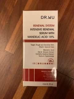 🚚 Dr. Wu杏仁酸亮白煥膚精華18% 15ml