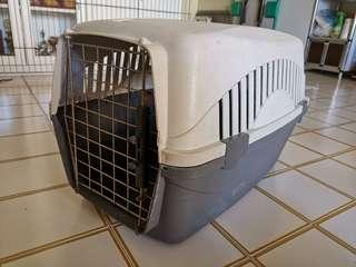 🚚 Used Dog/Cat/Pet Crate Carrier