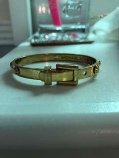 Michael kors adjustible belt bracelet