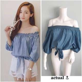 Korean Blouse / Top for Casual & Business Wear