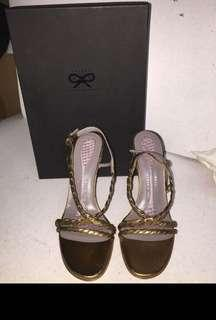 Anya Hindmarch ah sandal 38size真皮 Made in Italy new