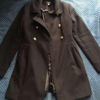 Black coat Forever New