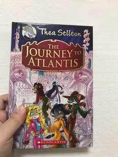 Thea Stilton Hard cover Journey To Atlantis and The Secret Of Fairies