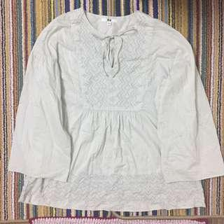 Uniqlo Blouse Top