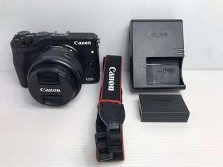 🚚 Canon EOS M3 + 15-45mm 黑色 微單眼