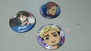Anime Yuri on Ice!!! Badges