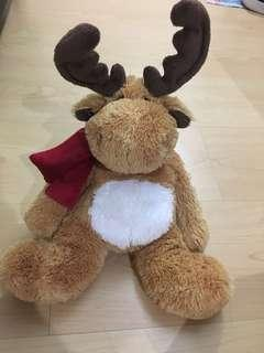 Reindeer stuff toy 25cm. ( great for Xmas)