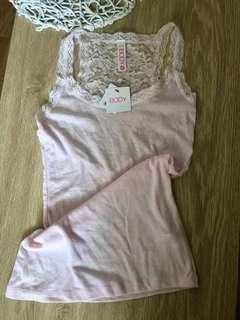 Cotton On Body Pink Bed Singlet