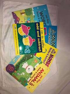 Bundle of 5 assorted activity books
