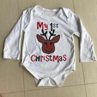 Christmas bodysuit, 6-9 months