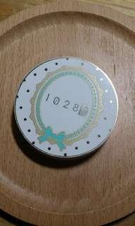 1028傳明酸亮透美白粉餅 02粉陶色