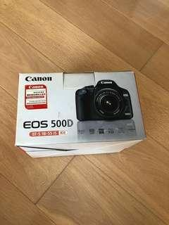 Canon 500D 原裝 full set