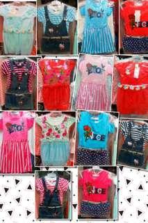SALE! Assorted Fashion Dress for Kids